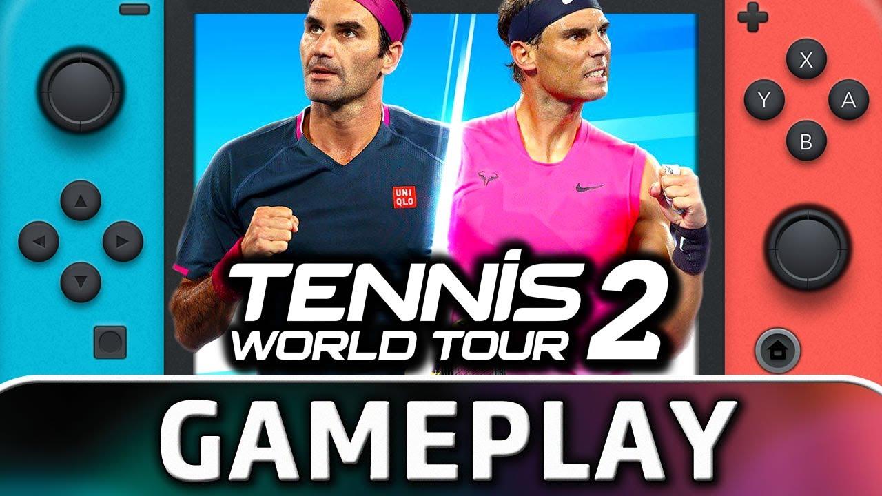 Tennis World Tour 2   Nintendo Switch Gameplay