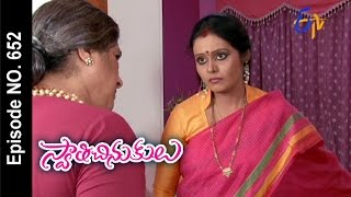 Swathi Chinukulu - 8th October 2015  - Svaaticinukulu - Full Episode No 652