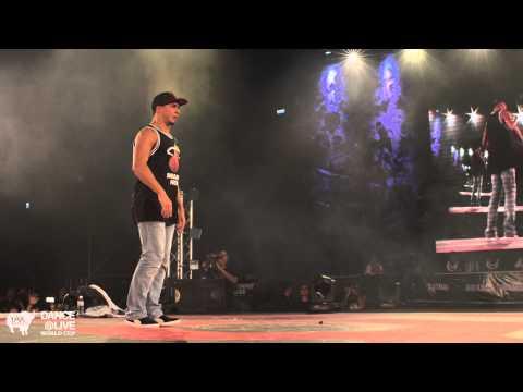 ストリートダンスのワールドカップ DANCE@LIVE WORLD CUP での SALAH vs UKAYがすごい!