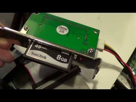 8GB Compact Flash card on IBM 6892 300PL ; cloning to 8 gig DOM