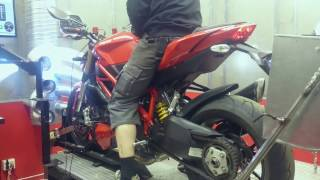 8. Ducati Streetfighter 848 Dyno run