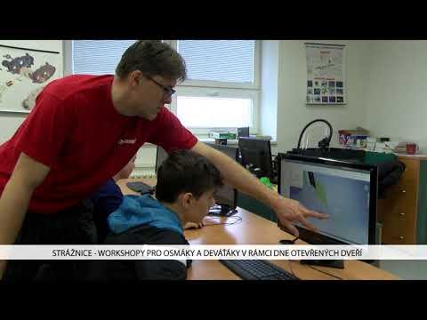 TVS: Strážnice - Workshopy pro osmáky a deváťáky v rámci dne otevřených dveří
