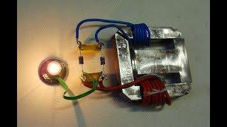 Получение запрещенной свободной энергии Теслы из эфира простой способ