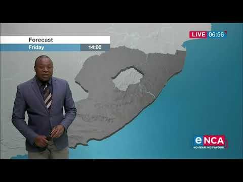 Weather forecast   30 October 2020