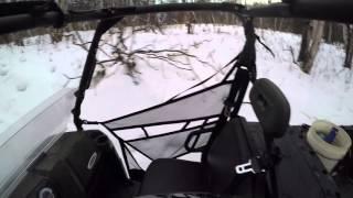 5. Polaris Ranger 6x6 1st time in snow