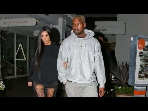 Kim And Kanye Celebrate At Sushi Restaurant After Arrest Of Paris Robbers