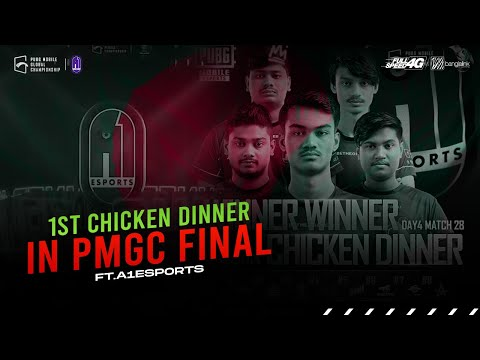 First BANGLADESHI Chicken IN PMGC FINAL | A1ESPORTS | #PMGC #WEONTOP #A1eSports