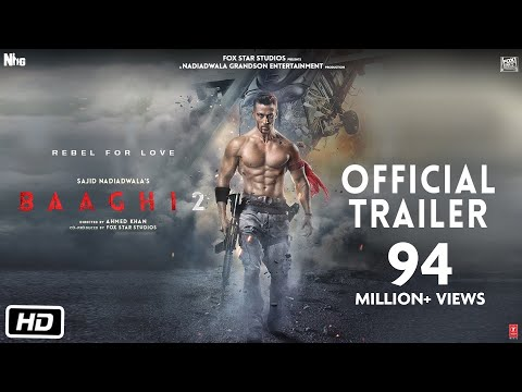 Video Baaghi 2 Official Trailer | Tiger Shroff | Disha Patani | Sajid Nadiadwala | Ahmed Khan download in MP3, 3GP, MP4, WEBM, AVI, FLV January 2017