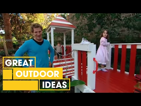 Better Homes and Gardens - DIY: Castle cubby-house (part two)