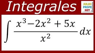 INTEGRALES DIRECTAS  Ejercicio 3