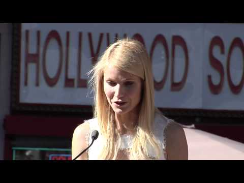 Gwyneth Paltrow Walk of Fame Ceremony