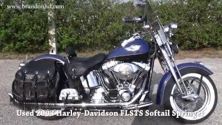 8. 2003 Harley Davidson Softail Springer- AMAZING CONDITION!