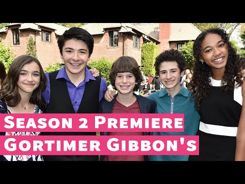 """The Cast of """"Gortimer Gibbon's"""" Excited for Season 2!"""