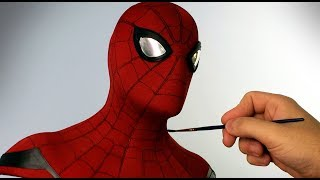 Video Spider-Man Sculpture Timelapse - Spider-Man: Homecoming MP3, 3GP, MP4, WEBM, AVI, FLV Januari 2019