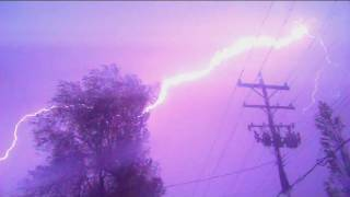 Lightning Caught on Camera!