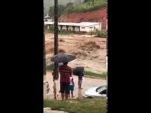 Enchente do Rio Panelas em Belém de Maria-PE 28/05/2017 . Afluente do Rio Una#
