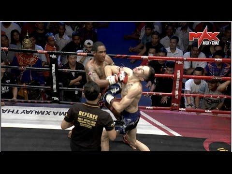 Niesamowite  pierwszy w historii podwójny nokaut w Muay Thai