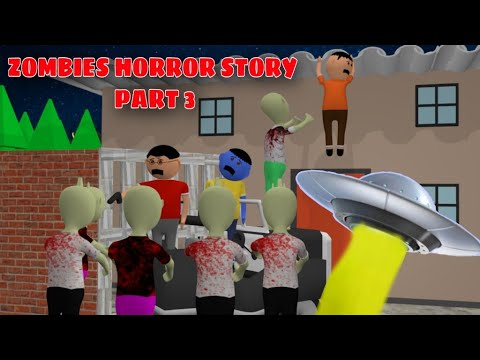 Zombies Horror Story Part 3 | Animated Movies | Cartoon Movies | Best Animated Movies | 3d Animation