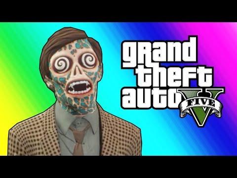 GTA 5 Slasher Funny Moments - Epic Flashlight Kill! (GTA 5 Online)
