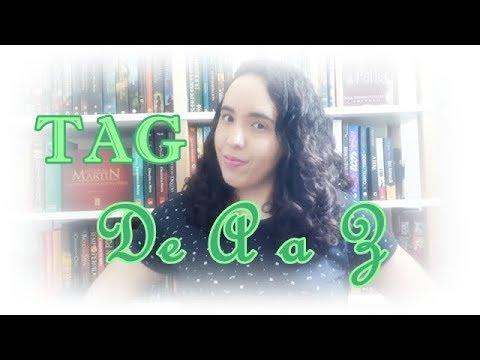 TAG De A a Z | VEDA #2 | Um Livro e Só