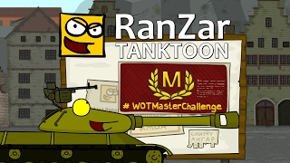 "WOTMasterChallenge from RU community: 30 rollouts on IS-3 on stream, ""Master"" - 4 points, 1st - 3 points, 2nd - 2 points, 3rd - 1 point. Best sum will win!Tanktoon - Cartoons based on video game World of Tanks. Short funny tank stories. English mirror of plagasRZ channel.Subscribe for new TankToon! Don't forget to like'n'share if you like it!Quick link to subscribe http://www.youtube.com/subscription_center?add_user=ranzarengEmail: plagas@ranzar.comOST Music on iTunes https://itunes.apple.com/us/artist/vladimir-malyshkin/id609711463Facebook page: https://www.facebook.com/ranzarengRussian channel https://www.youtube.com/user/plagasRZ"