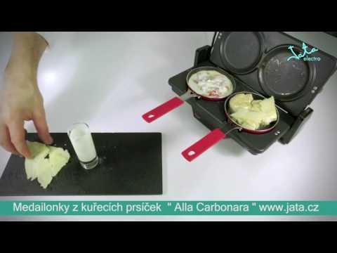 Video: Kontaktní gril Jata GR 266 + zapekácí desky+pánvičky