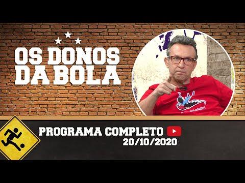 OS DONOS DA BOLA - 20/10/2020 - PROGRAMA COMPLETO