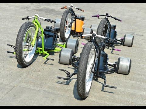 Motorized Phat Drift Trike Stroke Dirt Bikes