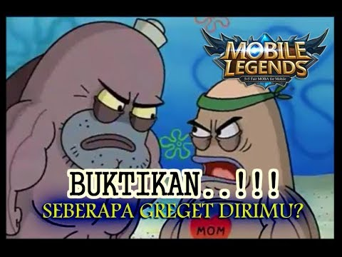 SEBERAPA GREGET KAMU MAIN MOBILE LEGENDS? (PLESETAN SALTY SPITOON SPONGEBOB) + DIAMONDS GIVE AWAY