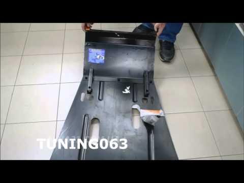 Штатная защита картера на шеви нива снимок