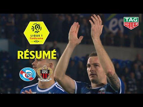 RC Strasbourg Alsace - OGC Nice ( 1-0 ) - Résumé - (RCSA - OGCN) / 2019-20