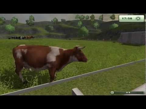 FARM SIMULATOR 2013 playing in a multiplayer game with the boys