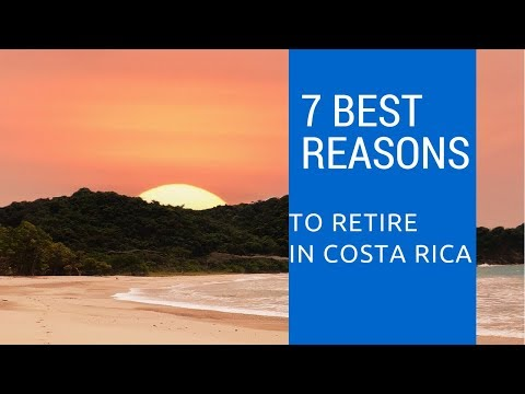 7 Best points for early retirement to Costa Rica!  Escape for fun!