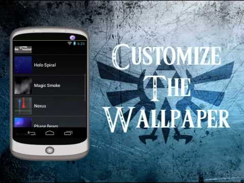 Video of Zelda LiveWallpaper