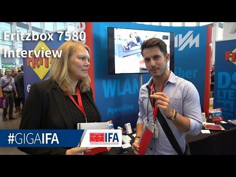 AVM Fritz!Box 7580 und Fritz!DECT 300 Heizungssteuerung vorgestellt - IFA 2016 - GIGA.DE