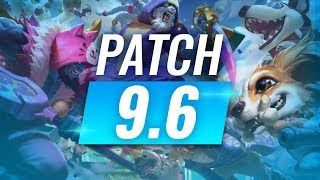 Best Champions TIER LIST - League of Legends Patch 9.6