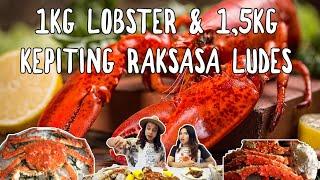 Video Gila! 1kg Lobster Kanada + 1,5 Kepiting Raksasa Alaska Ludes! ft. Shelly Che MP3, 3GP, MP4, WEBM, AVI, FLV Oktober 2018