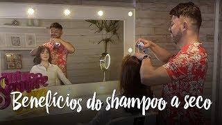 Fica a dica - 3 benefícios do shampoo a seco