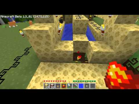How to Make a Hyperion Cannon in Minecraft