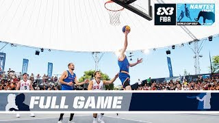 Enjoy all the excitement of the match between the Netherlands and Team USA! From the FIBA 3x3 World Cup 2017! Subscribe to the FIBA3x3 channel: ...