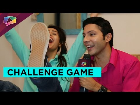 "Challenge game with the couple of show ""Girls On"