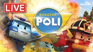 Video LIVE 🔴 Robocar Poli season 3,4 | Kids animation MP3, 3GP, MP4, WEBM, AVI, FLV Juni 2019