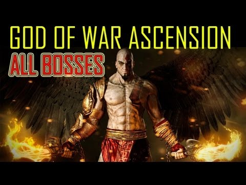 bosses - God of War Ascension All boss battles all bosses every boss battle boss fights including final boss God of War Ascension walkthrough part 1 let's play gamepl...