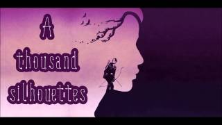 Silhouettes - Of Monsters And Men (Lyrics on screen) HD