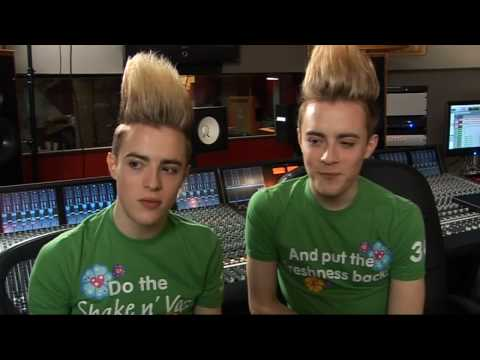 Jedward talk girls, girls, girls Video