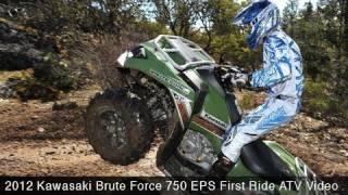 10. MotoUSA First Ride:  2012 Kawasaki Brute Force 750 EPS ATV
