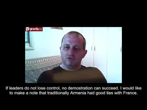 Israeli expert Jacob Kedmi about Armenian protests (видео)