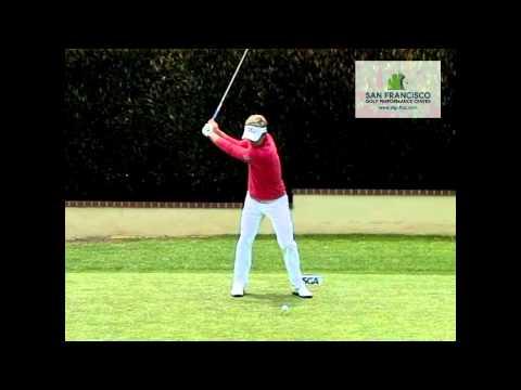 World No.1 Luke Donald Driver Golf Swing 2012