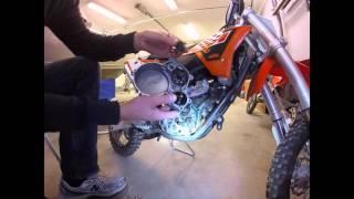 6. KTM 50 SX 2015 kickstart assembly