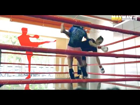 Nerdy Girl Prank at Muay Thai Gym